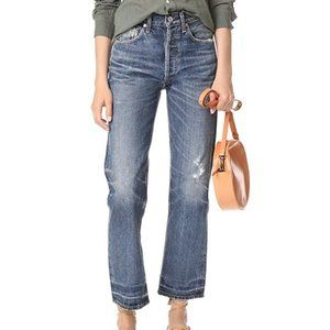 COH Gia Crop Straight Leg Jeans in Rollins